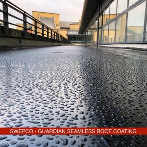SWEPCO Guardian Seamless Roof Coating
