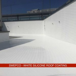 SWEPCO White Silicone Roof Coating